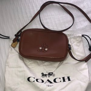 Limited Edition Coach Mickey Crossbody